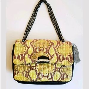 Aimee Kestenberg Leather Snakeskin Purse